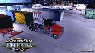 Download AMERICAN TRUCK SIMULATOR EP 9 - NEW PROFILE - FRESNO TO BAKERSFIELD (ATS MODS) Video