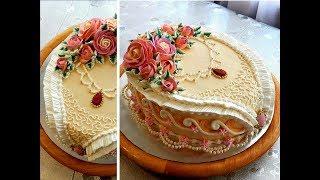 Download УКРАШЕНИЕ ТОРТОВ, Торт ″АНЖЕЛИКА″ от SWEET BEAUTY СЛАДКАЯ КРАСОТА , Angelica Cake Decoration Video