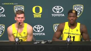 Download Casey Benson and Dylan Ennis Post Game Interview 11-28 Video