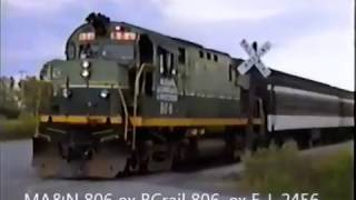 Download Railroad Action at Utica, NY Volume 19 August 26, 1993 (24 year old VHS) Video