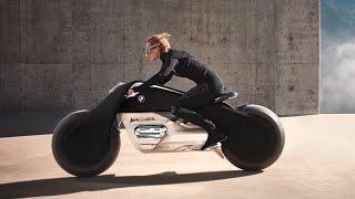 Download BMW Motorrad Vision Next 100, la increible moto que no se cae ni necesita casco Video
