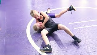 Download KID WRESTLING CHAMP BATTLES FOR THE TITLE! TAYDEN DYCHES | WRESTLING 2017 Video