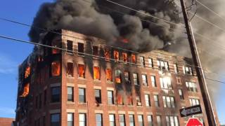 Download Holyoke apartment building destroyed by New Year's Day fire Video