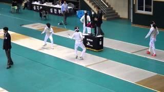 Download 13.09.06 남현희(성남시청)vs(몰라요) - 2013펜싱국가대표선발전. BY 원뚜쉬 Video