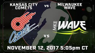 Download Kansas City Comets vs Milwaukee Wave Video