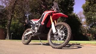 Download Honda CRF250 Rally vs. Kawasaki Versys X300 Video