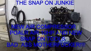 Download THE SNAP ON JUNKIE POLAR AIR COMPRESSOR IS THIS THE BEST COMPERSSOR YOU CAN BUY? Video