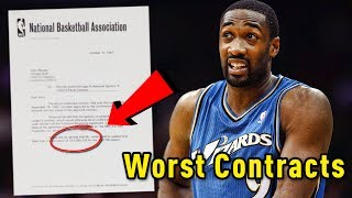 Download 5 Of The WORST CONTRACTS In NBA History!! Video