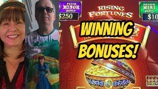 Download WINNING MAX BET BONUSES ON RISING FORTUNES Video