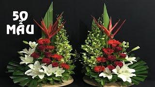 Download 50 Mẫu Cắm Hoa Đẹp PHỤNG VỤ NHÀ THỜ - Hướng dẫn cắm hoa Video