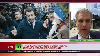 Download Draft deal between 2 Italian parties leaked, suggests lifting anti-Russia sanctions Video