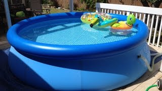 Download Intex Easy Set Pool Review | Inflatable Pool Video