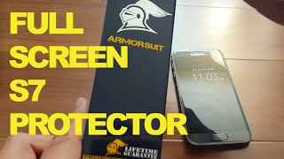 Download HOW TO Install Edge to Edge S7 Screen Protector Armor Suit Video