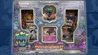 Download Opening A Marshadow Figure Collection Box Of Pokemon Cards! Video