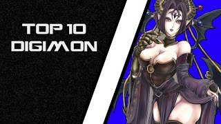 Download Digimon Story Cyber Sleuth - Top 10 Digimon [COG INCORPORATED] Video