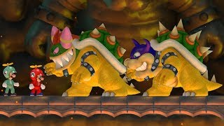 Download New Super Mario Bros Wii - Rookie and Bowletta Boss Battles Video