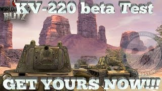 Download WoT Blitz: KV-220 T, Don't think, Just buy! Video