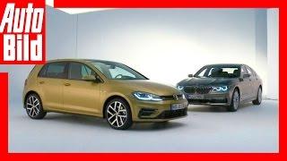 Download Golf 7 vs BMW 7 - Winke, winke machen - Vergleich/Test/Review Video