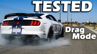 Download How does my GT350R compare to a DODGE DEMON? | Drag Mode TESTED Video