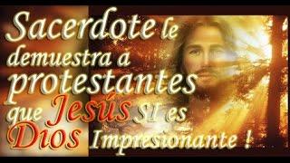 Download Sacerdote le demuestra a Testigos de Jehová y demás protestantes que Jesús SI es Dios ! Video