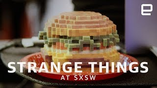Download Sushi robots and jump jet packs at SXSW 2018 Video