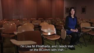 Download Lisa Ní Fhlatharta - Bm Le Gaeilge Ollscoil Na Héireann, Gaillimh fotheidil Video