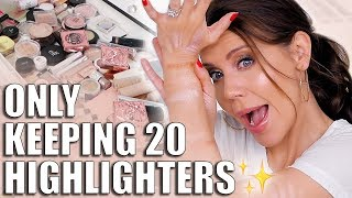 Download I'm ONLY Keeping 20 Highlighters! Video