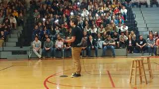 Download Ed Sheeran cover by Peyton Littleton ″Perfect″ High school talent show 2018 1st place Video