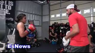 Download Only Female Fighter of RGBA 105 BEATS Cracks Like A Huge Man EsNews Boxing Video