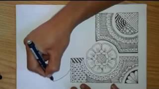 Download Create Easy Ornament Doodle Art Zentangle With Batik Pola Video