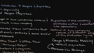 Download Episode 119: Introduction to Mergers and Acquisitions Video