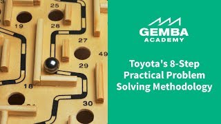 Download Toyota's 8 Step Practical Problem Solving Methodology Overview Video