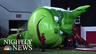 Download How The Macy's Thanksgiving Day Parade Comes To Life | NBC Nightly News Video