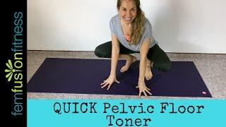 Download Quick Pelvic Floor Toner + Pranayama | FemFusion FItness Video