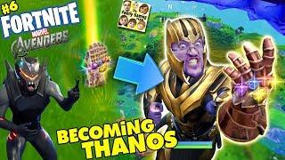 Download FORTNITE AVENGERS! Get Thanos Infinity Gauntlet Everytime? Marvel Battle Royale (FGTEEV #6) Video