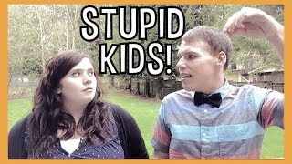 Download STUPID THINGS YOU BELIEVED AS A KID! | itsjustinandmelissa Video