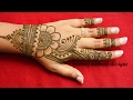 Download simple easy mehndi henna designs for hands-mehndi designs for beginners Video