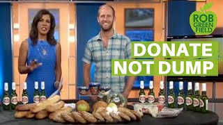 Download Stop Waste: Ask Grocery Stores to Donate NOT Dump Video