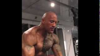 Download Dwayne ″ The Rock ″ Johnson Workout video 2013 ( complete Instagram workout video collection ) Video