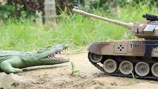 Download Crocodile vs Tank | A lot of Cars Toys for Kids Video for Children Video