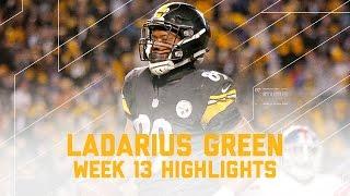 Download Ladarius Green's Great Day (Week 13 Highlights) | Giants vs. Steelers | NFL Video