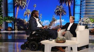 Download Ellen's Incredible Surprise for 'Amazing Emeka' Video