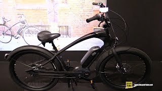 Download 2018 Electra Bicycles Ace of Spades GO! 8i Cruiser Electric Bike - Walkaround - 2017 Eurobike Video
