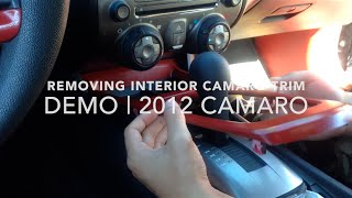 Download HOW TO: Taking Off Camaro Interior Trim | 2012 Camaro | For 5th Gen Camaros Video