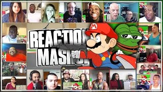 Download Racist Mario Reaction's Mashup ″HE SAVAGE!″ (YouTuber's React) Video