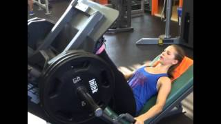 Download 400 lbs leg press 14 years old Video