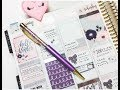Download Plan with Me   Collab w/PaperPrincessPlans!   TwoLilBees Video