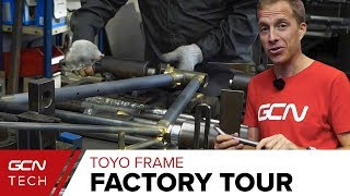 Download Making A Hand Built Steel Bike   Toyo Frame Factory Tour Video
