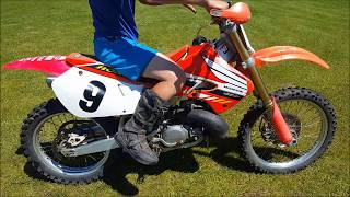 Download First Ride on The Honda Cr 250!!! Video