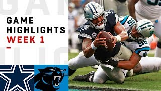 Download Cowboys vs. Panthers Week 1 Highlights | NFL 2018 Video